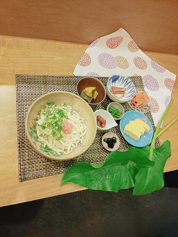 UDON Making Class in Kyoto