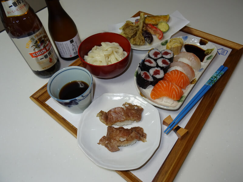 Cooking such as Sushi and Tempra so on