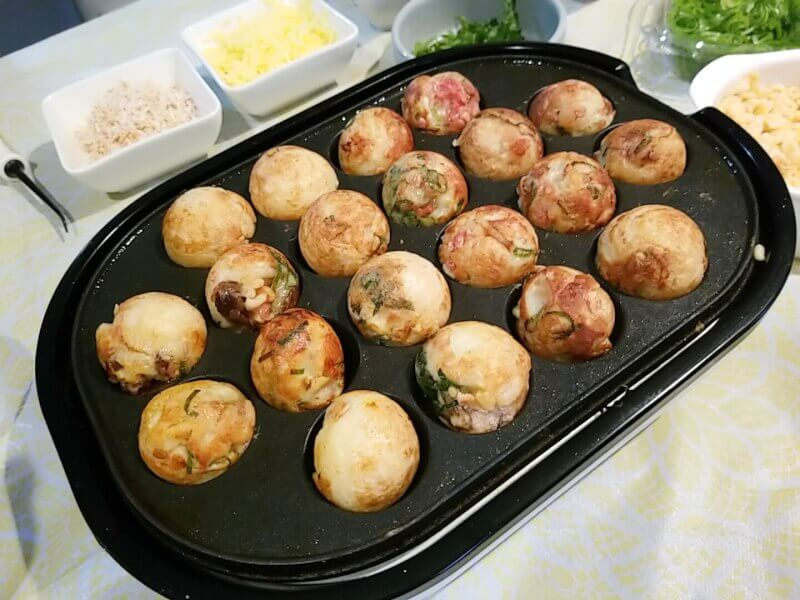 Takoyaki(Octopus Ball) Party
