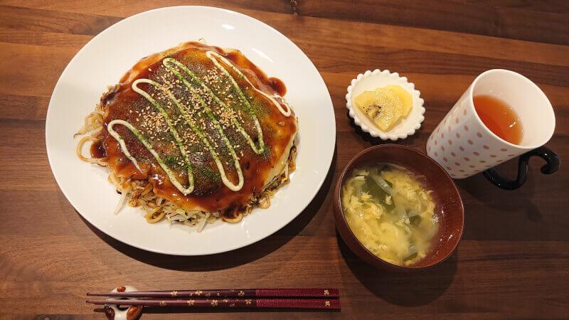 Homemade Okonomiyaki and Soup Cooking Class