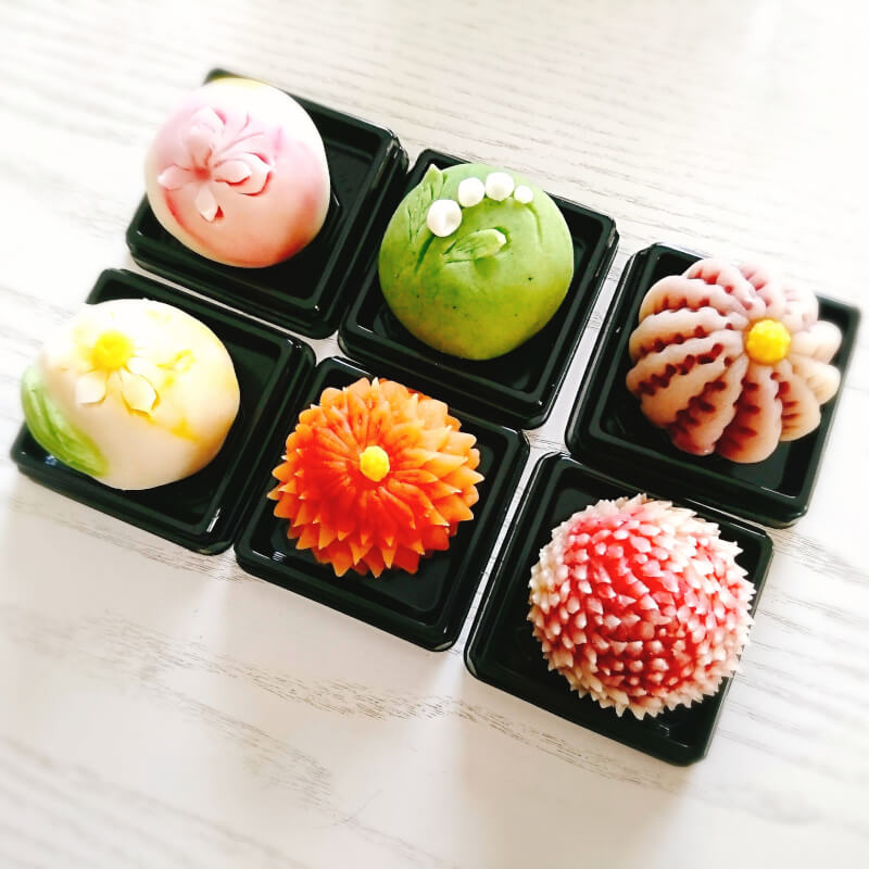 Wagashi and Matcha