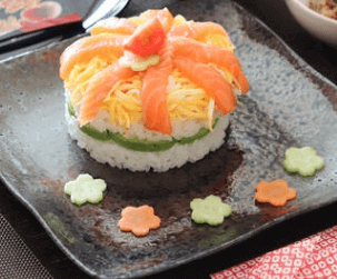 Homemade Pressed Sushi