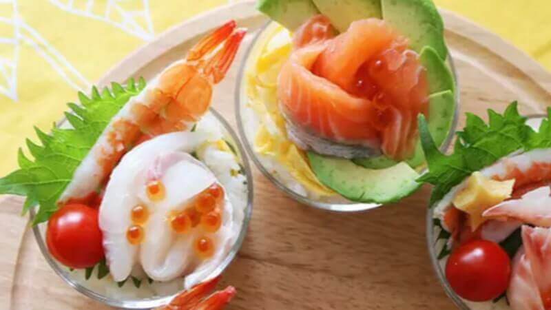 Let's Cup Sushi party