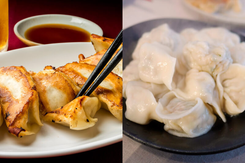 2 Types of Homemade Gyoza