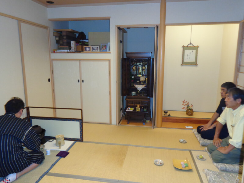 How to make Okonomiyaki & Jpanese traditional tea