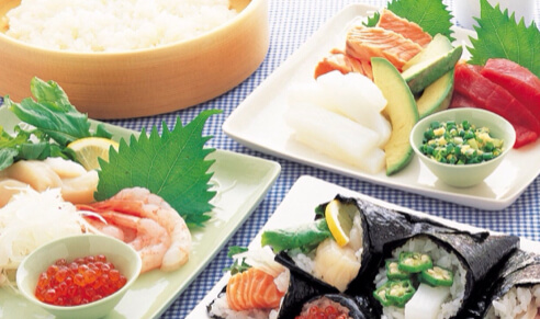 Easy to make sushi,