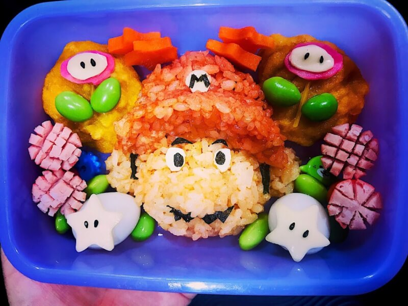 Character Bento Making