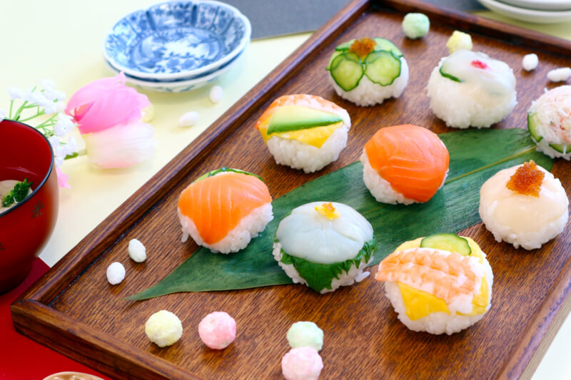 Tiny Sushi Ball course!