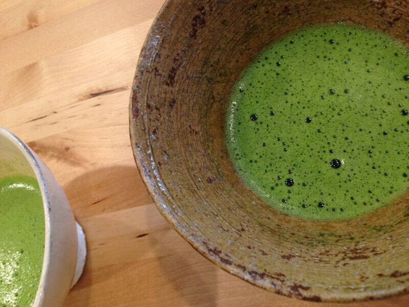 Learn Japanese tea ritual food from tea master