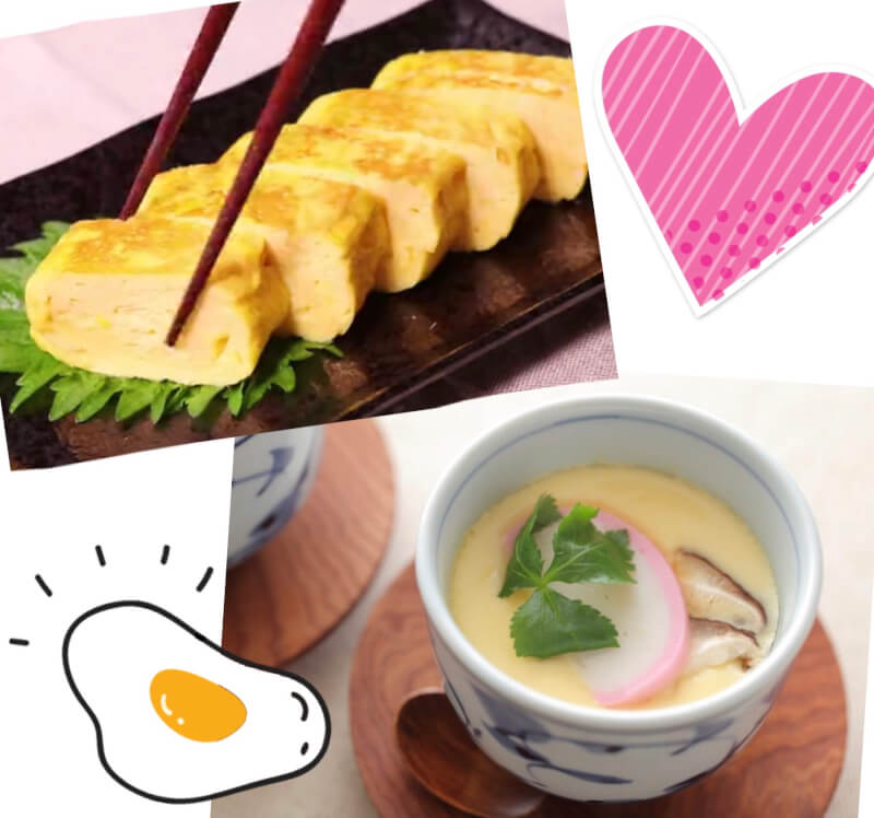 ★Popular menu of sushi restaurants 『Tamagoyaki』&『Chawanmusi』★