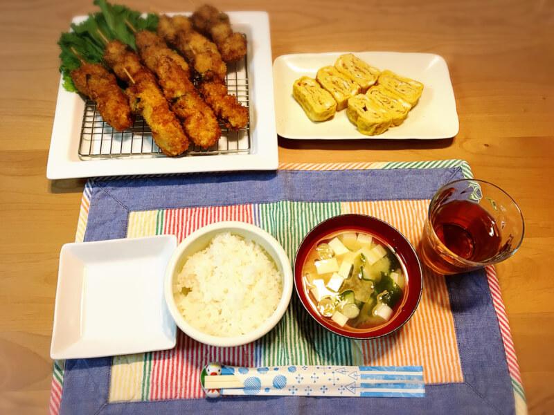 Kushikatsu Lunch