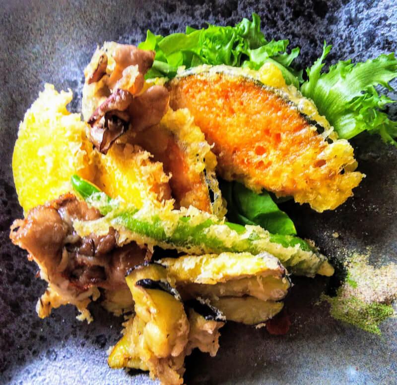 tempura and Kakiage