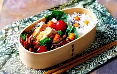 Japanese Lunch Box or healthy meal