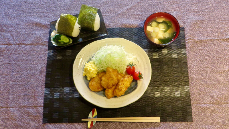 Chicken Namban(Fried Chicken with vinegar and tartar sauce)