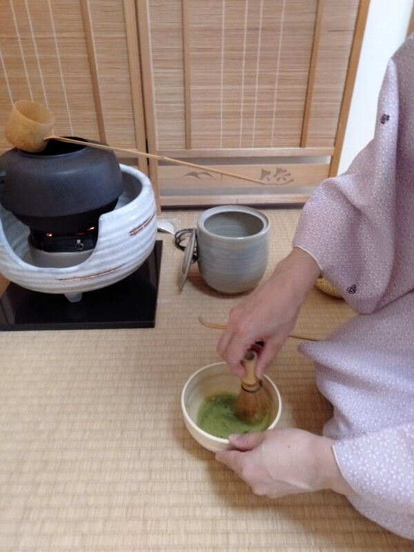 Japanese home cooking +Tea ceremony(SADO)