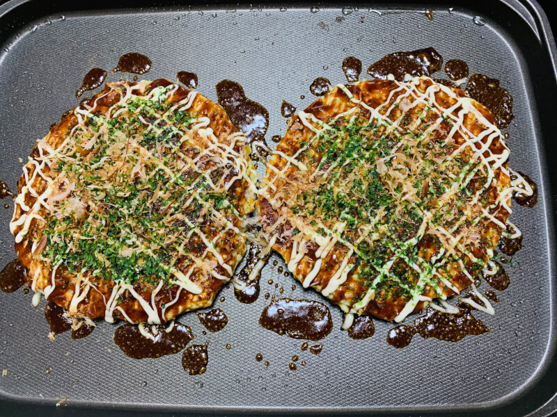 【Yakisoba and Okonomiyaki】