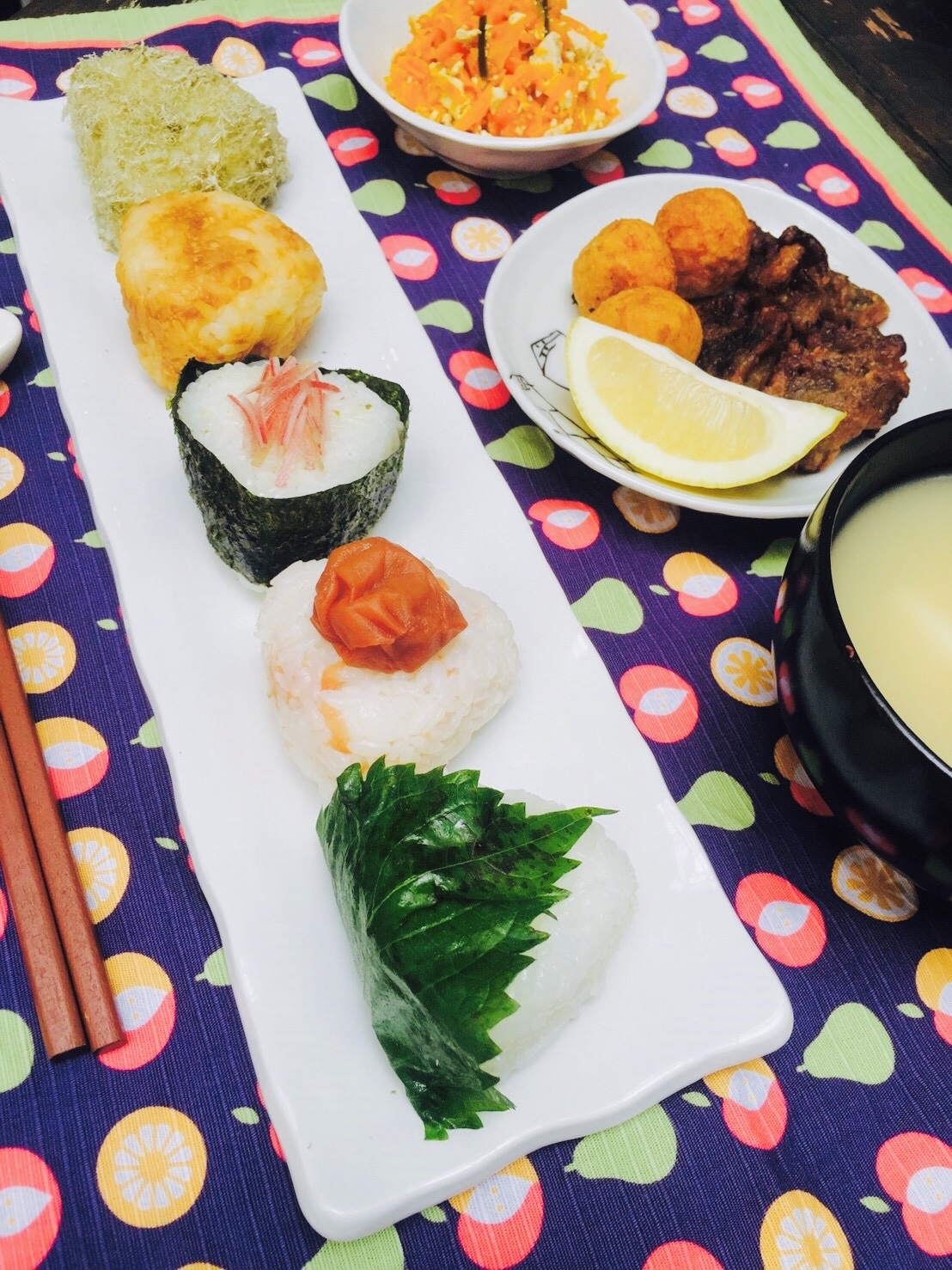 "Japanse ""Vegan"" Onigiri Plate!"