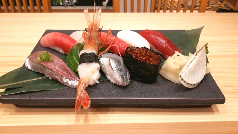Sushi and Tempura classes taught by professionals