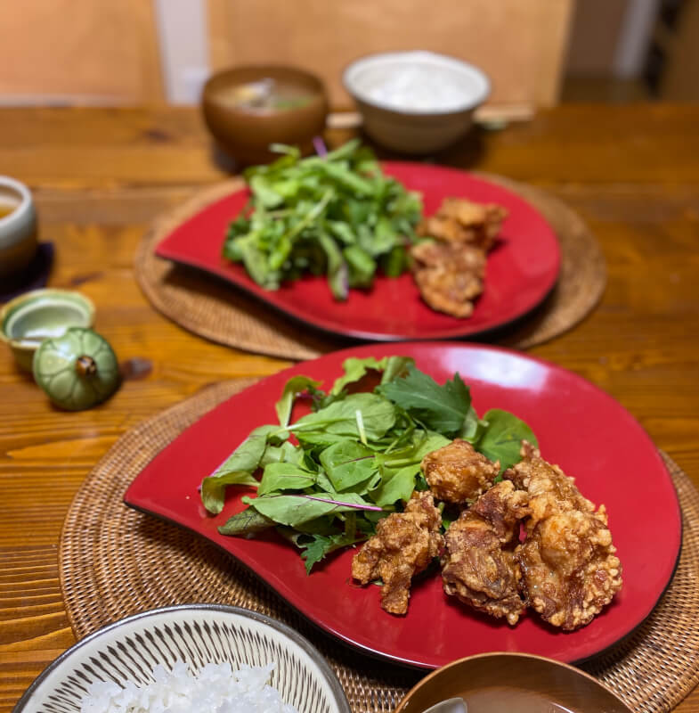 let's cook karaage(japanese fried chicken)