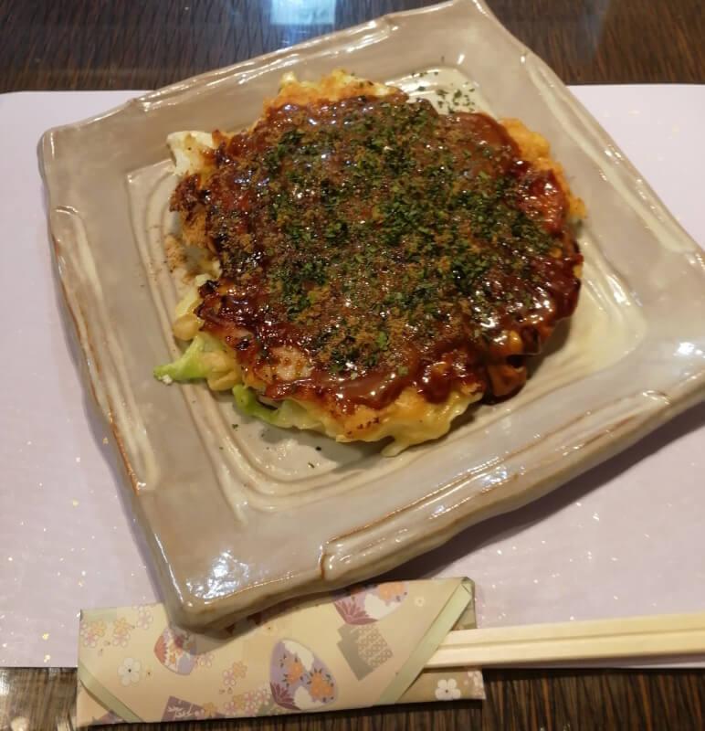 Okonomi-yaki Easy and fun cooking experience in Kobe