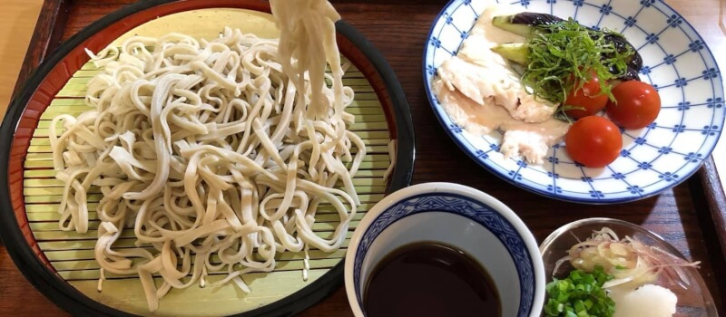 Easy Soba noodles (100% buckwheat flour)with Tempura making class in Tokyo