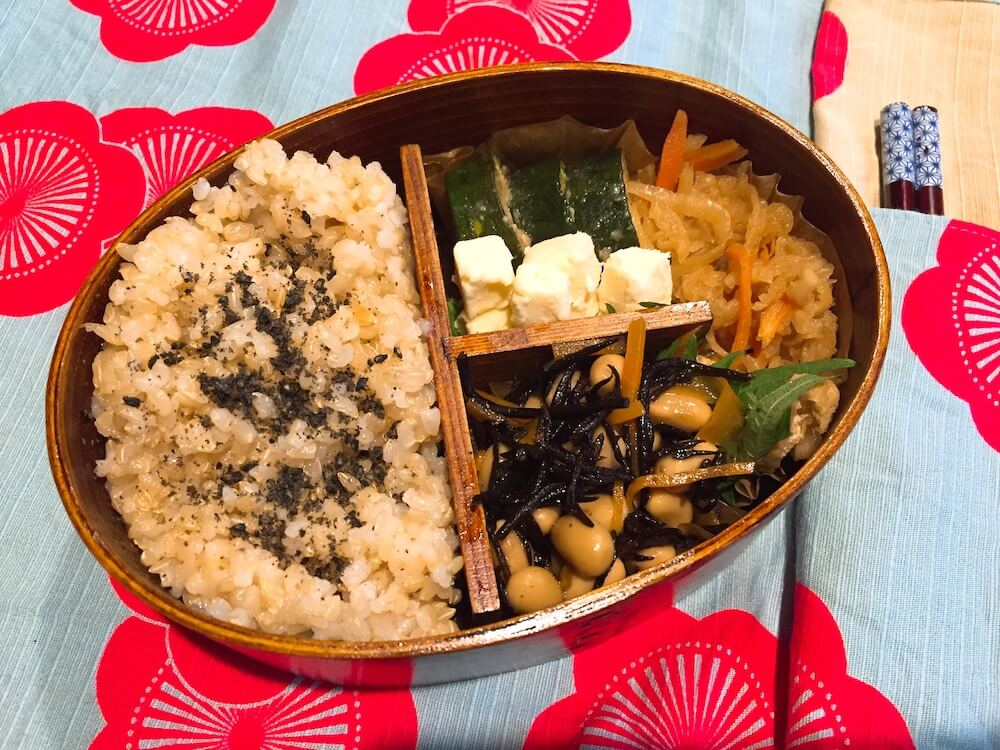 Obanzai (Kyoto style home cooking) for vegan .