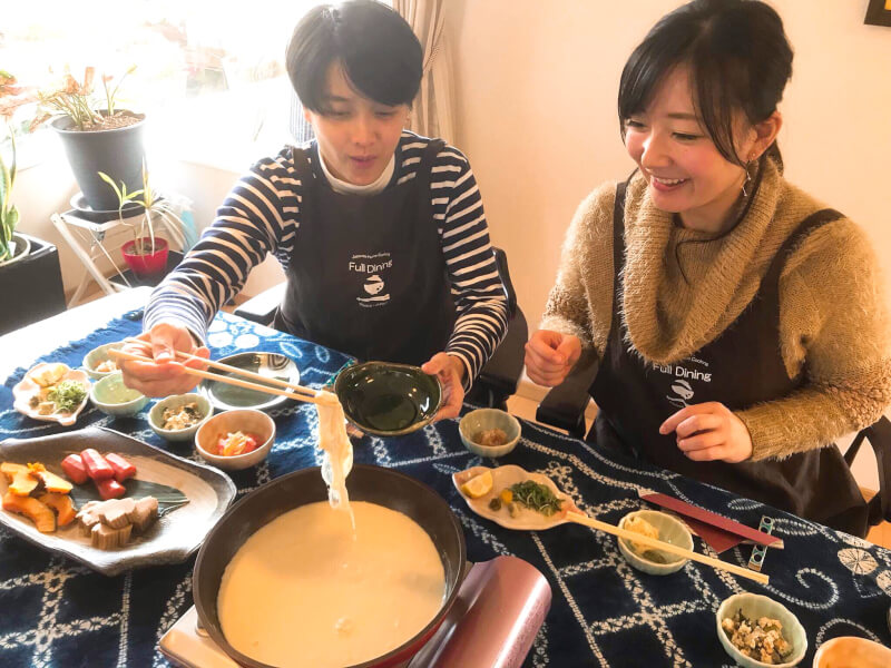 Japanese homestyle cooking for sake in Namba