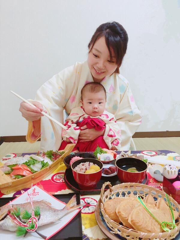 Shojin Ryori : Weaning ceremony