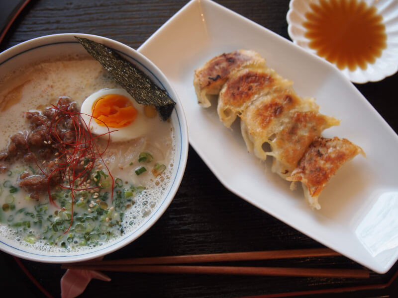 All handmade Ramen & Gyoza lesson