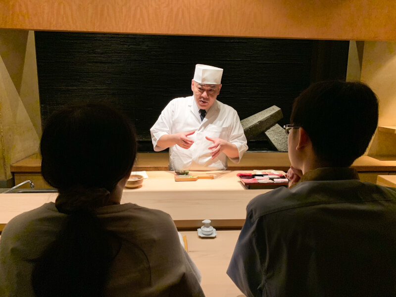 Brief lecture about sushi