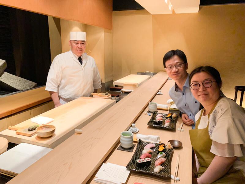 11:20 am Enjoy sushi lunch!