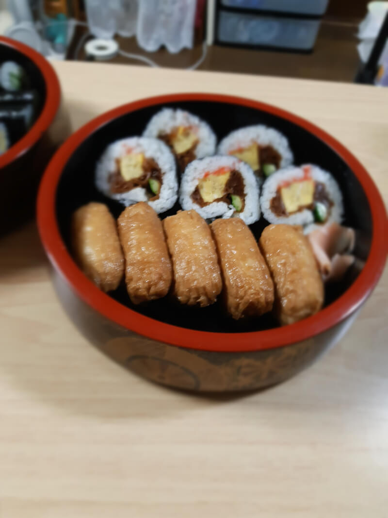 Sushi roll Sushi roll, Inarisushi.