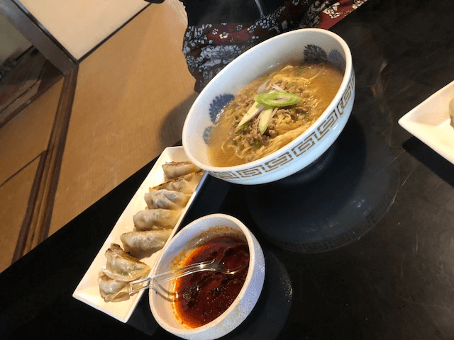 Let' make Miso Ramen and Gyoza and eat it at the  traditional house !!