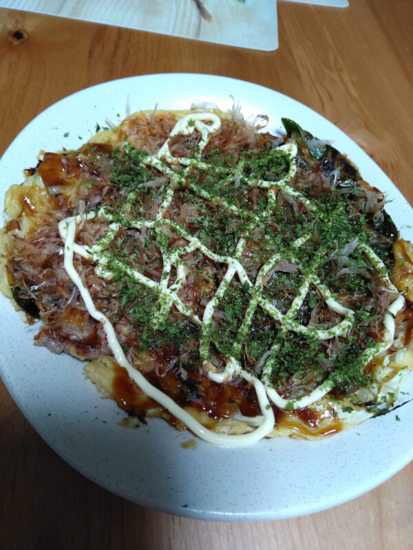 Let\'s cook home made okonomiyaki and yakisoba at Kyoto