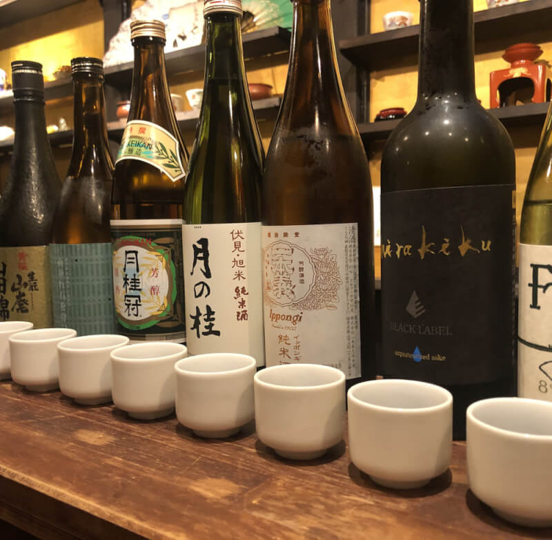 10 kinds of sake tasting at 300 years old samurai house [private session]