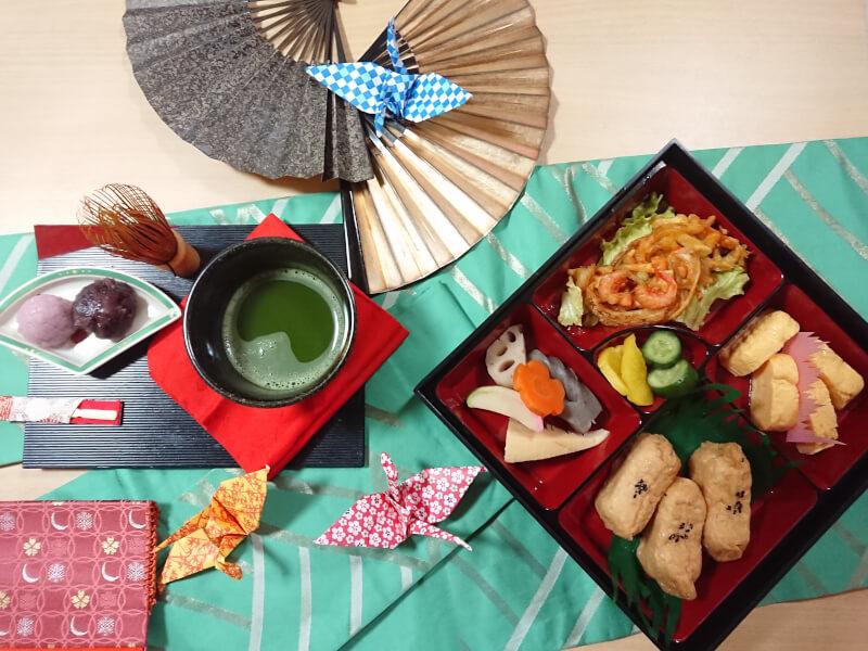 Bento Making and Tea Ceremony Experience