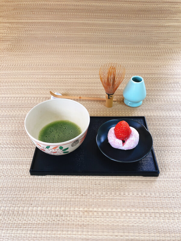 Matcha tea ceremony & Traditional Japanese sweets