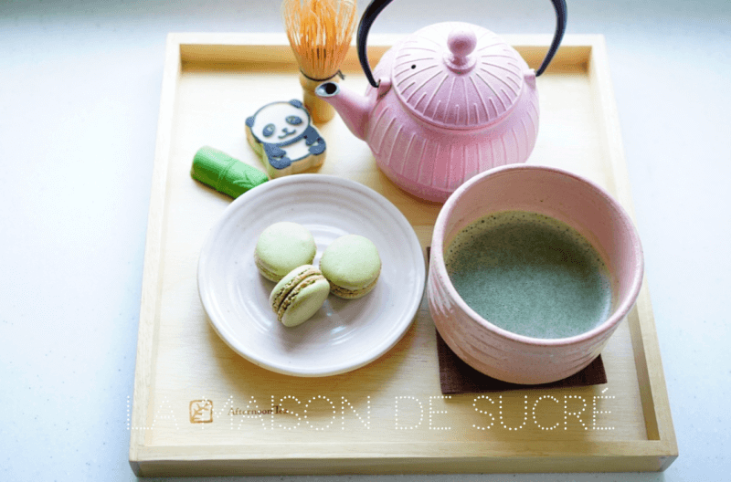Matcha flavor sweets making experience