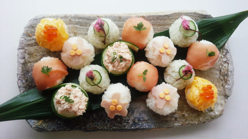 HOMEMADE SUSHI of ALL KINDS!! 