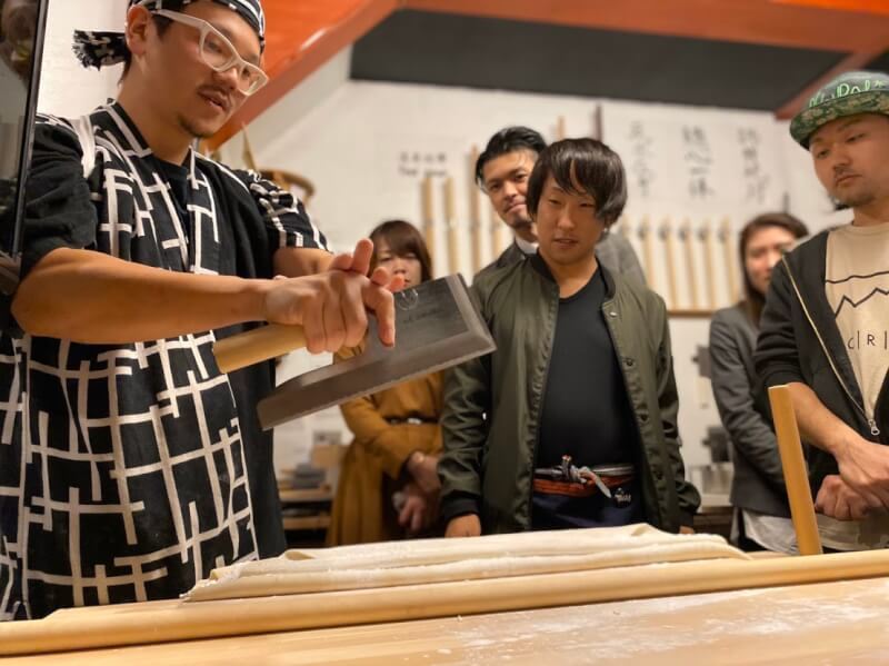 [Udon Cooking Class at Asakusa]