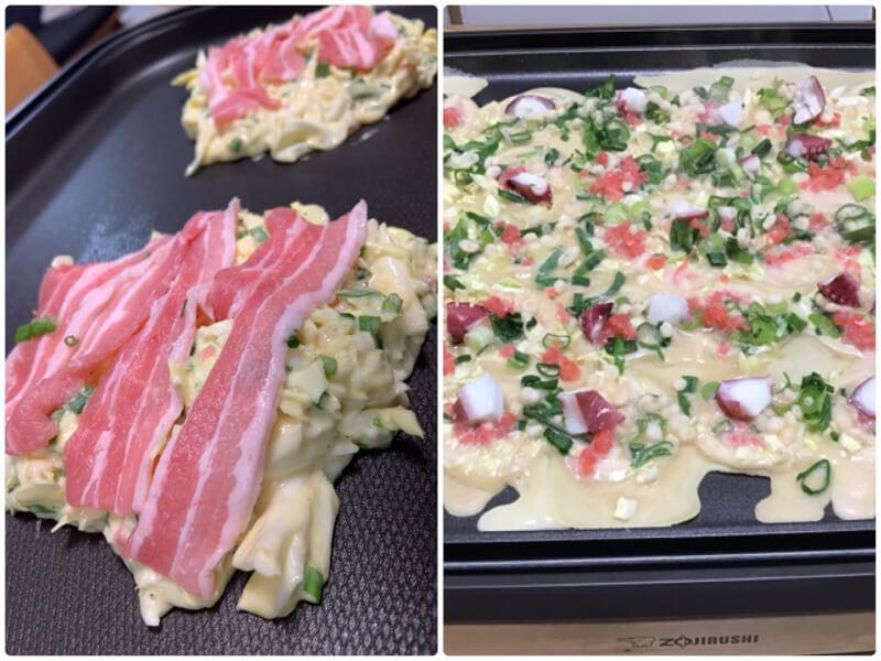 Let's cook Okonomiyaki or Takoyaki