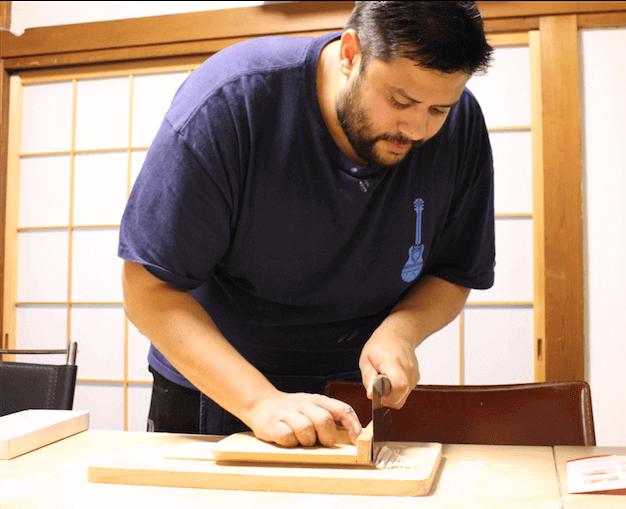 Handmade Udon with Tempura