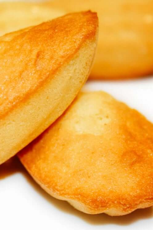 Madeleine: bake and taste :) with local