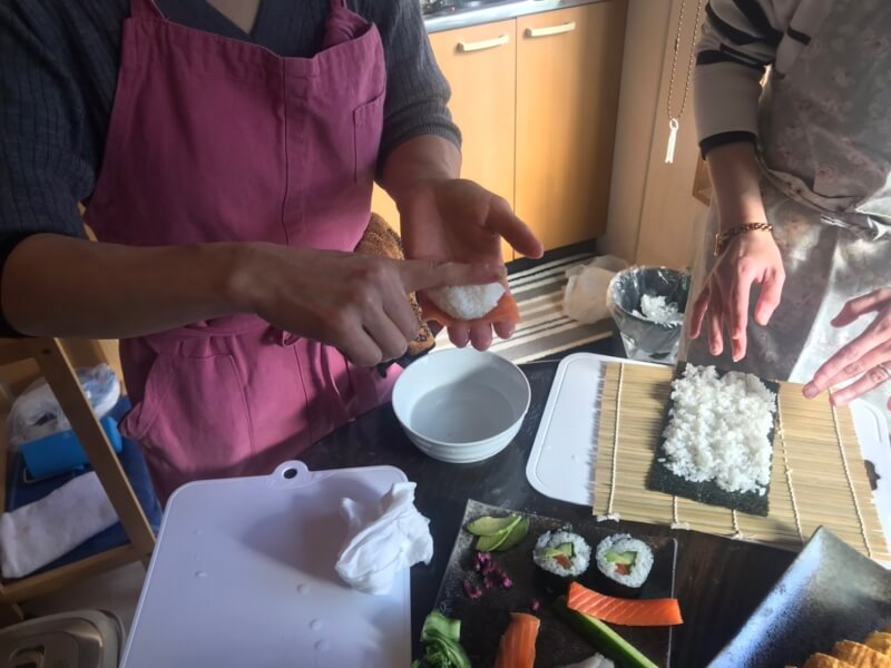 Basic preparation of homely style cooking.