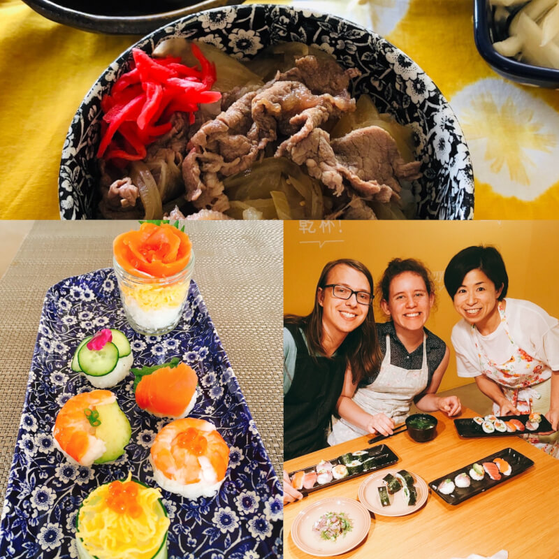 You can try Japanese traditional menus as you like.!!