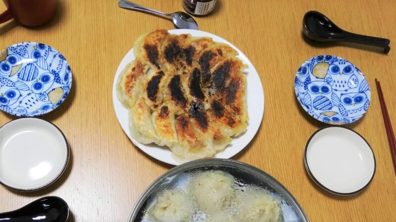 Enjoy Gyoza Dumpling class in central Kyoto