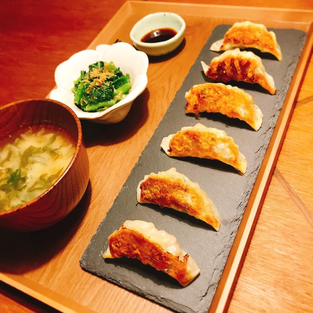Homemade gyoza(Japanese dumplings) Cooking Class (meat or vegetarian)