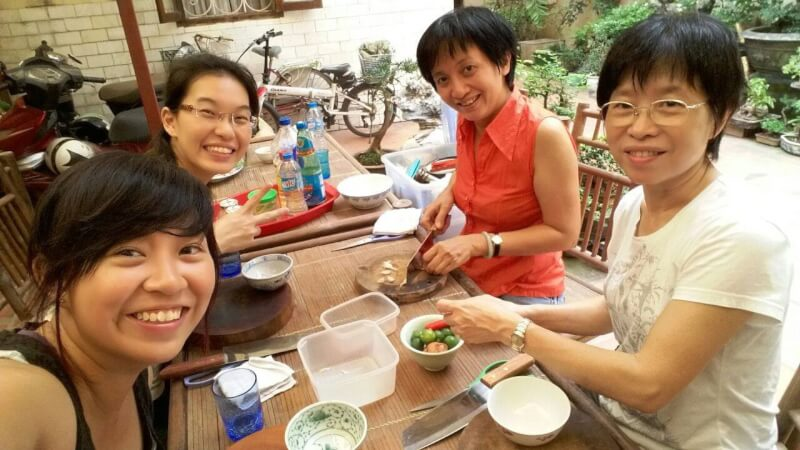 Basil Cooking Club : enjoy home cook authentic Vietnamese food with warm host , explore local daily market with fresh material , enjoy your own cooked food!