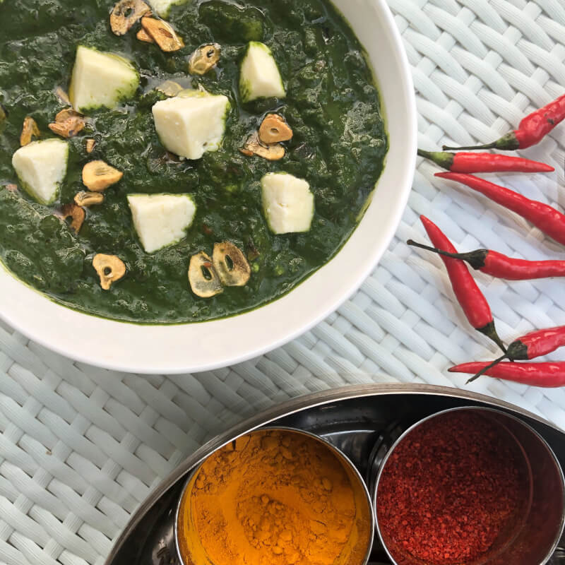 Indian Vegetarian Cooking - hands-on cooking class in Singapore
