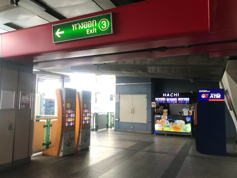 Meeting Point at Phrom Phong BTS Exit 3
